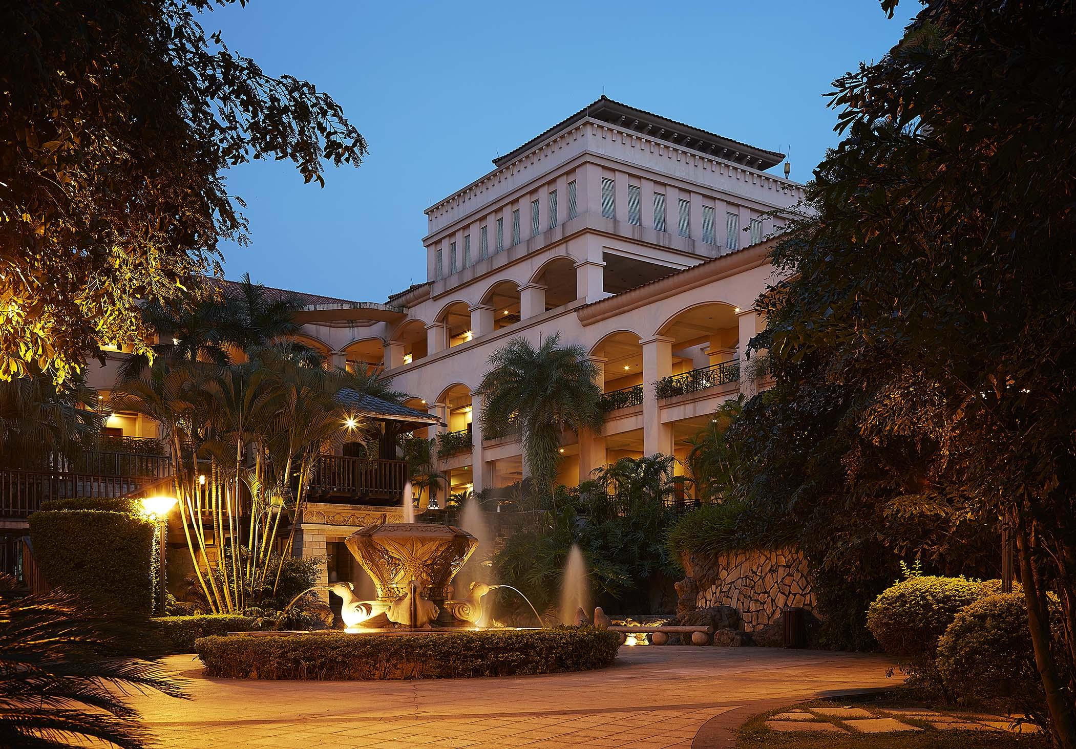 东莞峰景高尔夫酒店内外景拍摄
